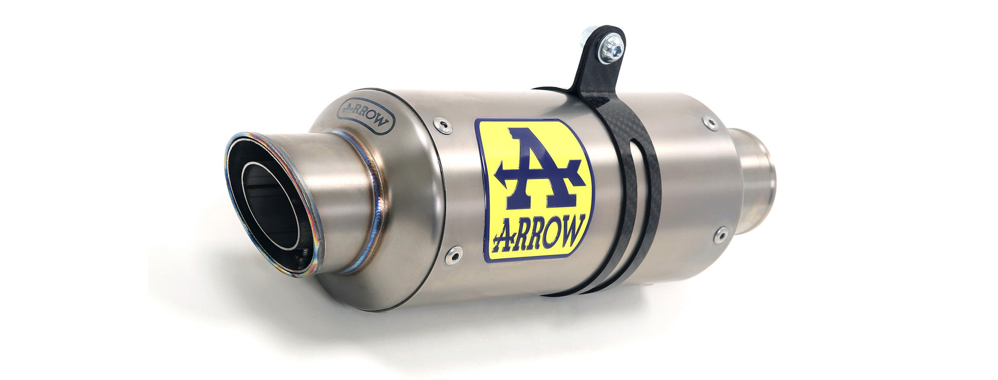 GP2 Exhaust - Kawasaki, Exhaust Silencer, Arrow Exhausts - Race and Trackday Parts