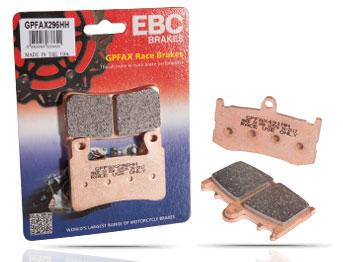 GPFAX - Triumph, Brake Pads, EBC Brakes - Race and Trackday Parts