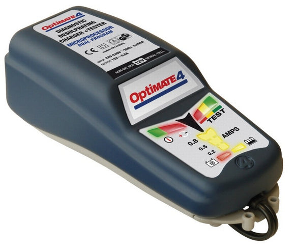 Optimate 4 Battery Charger, Battery Charger, Optimate - Race and Trackday Parts