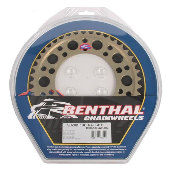 Renthal Sprockets - Aprilia (520 Pitch), Sprockets, Renthal - Race and Trackday Parts