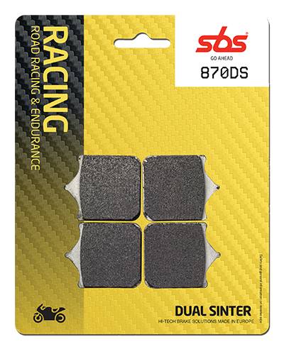 Ducati SBS Brake Pads DS Compounds, Brake Pads, SBS Brake Pads - Race and Trackday Parts