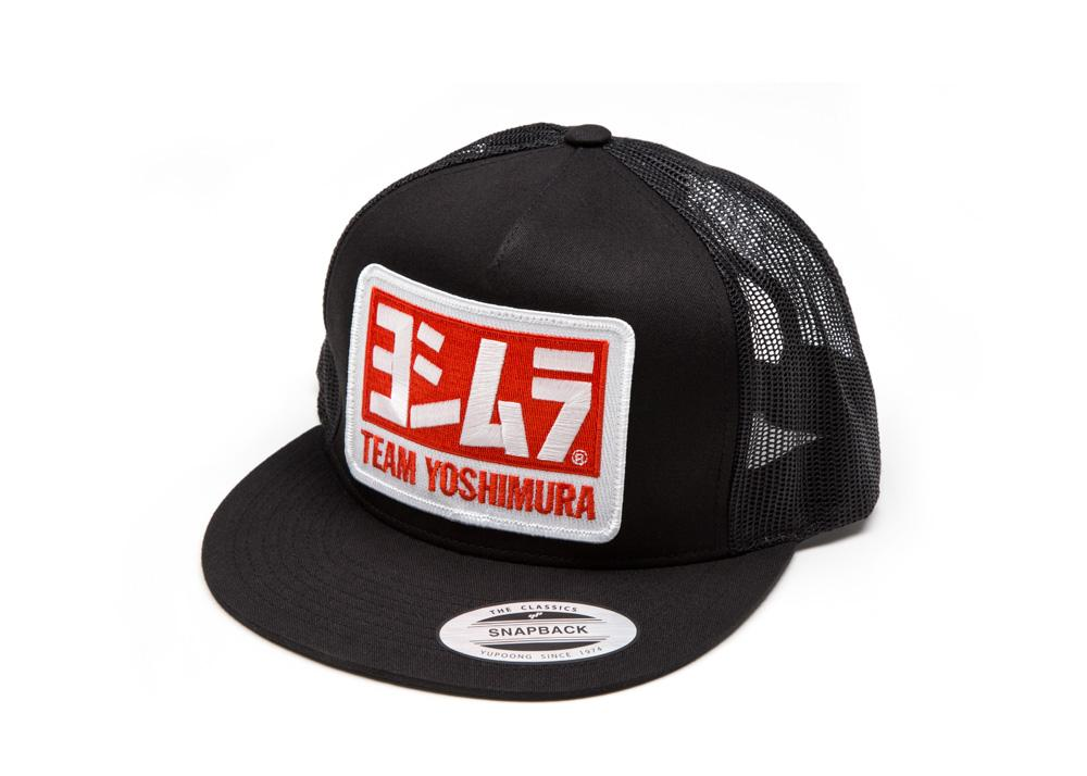 Yoshimura Team Snapback Trucker Hat, Hat, Yoshimura - Race and Trackday Parts