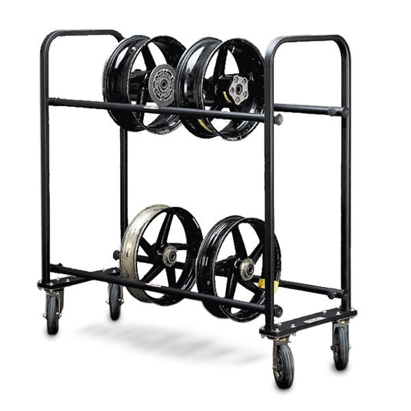 Wheels & Tyre Carrier, Wheel Carrier, Valtermoto Components - Race and Trackday Parts