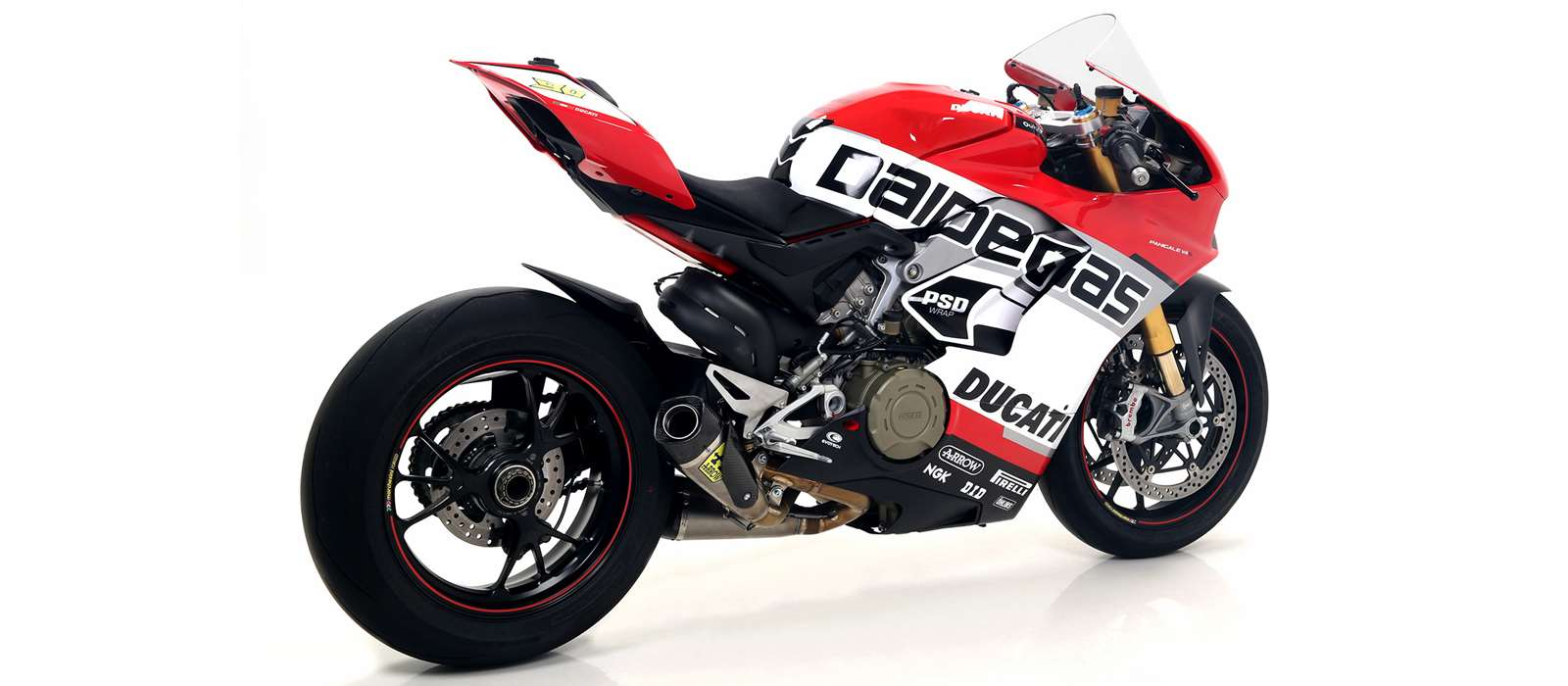 Ducati Panigale V4/S, Exhaust, Arrow Exhausts - Race and Trackday Parts