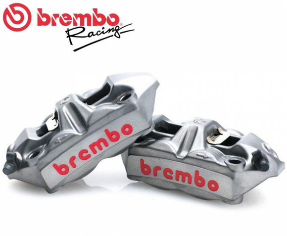 Brembo M4 Front Calipers, Brake Caliper, Brembo - Race and Trackday Parts