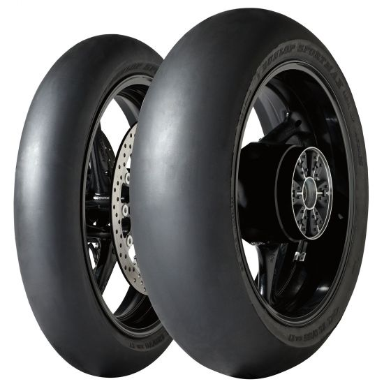 D212 GP RACER SLICK, Slick Tyres, Dunlop - Race and Trackday Parts