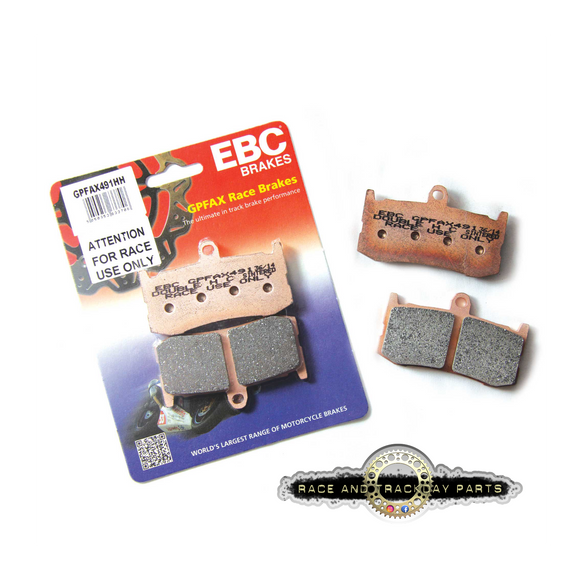 EBC GPFAX Brake Pads, Brake Pads, EBC Brakes - Race and Trackday Parts
