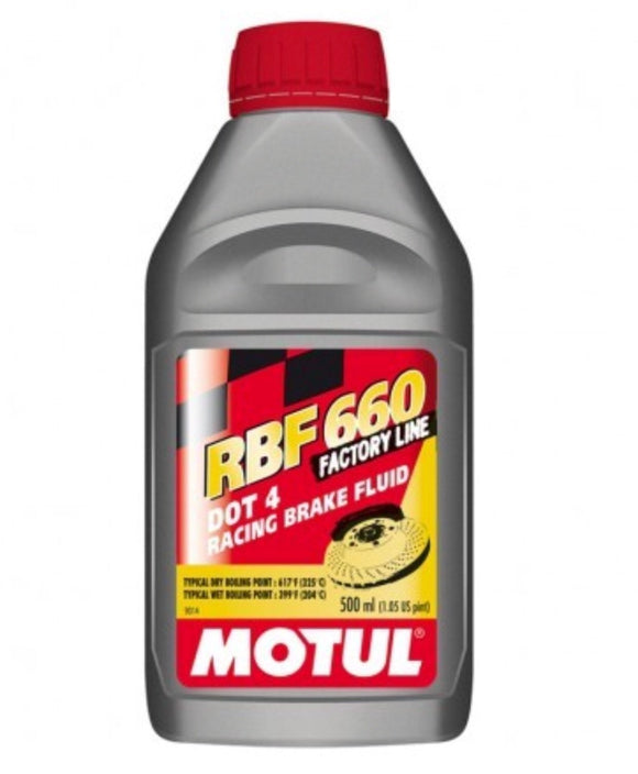 Motul RBF660 Factory Line, Brake Fluid, Motul - Race and Trackday Parts