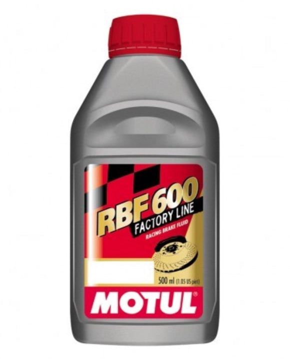 Motul RBF600 Factory Line Brake Fluid, Brake Fluid, Motul - Race and Trackday Parts