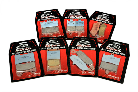 Renthal Brake Pads, Brake Pads, Renthal - Race and Trackday Parts