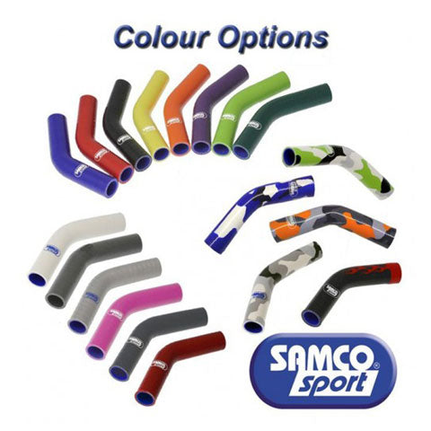 Kawasaki Samco Premium Colours Hose Kit, Silicone Hoses, Samco Sport - Race and Trackday Parts