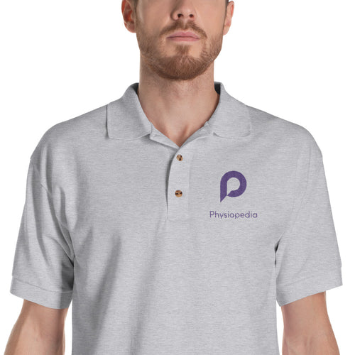 Physiopedia Embroidered Polo Shirt