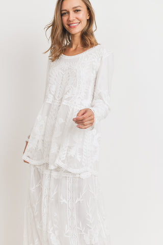 The Hope Lace Top