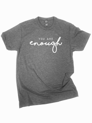 You Are Enough Graphic Tee Curvy