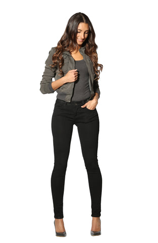 The Sarina Skinny Jean in Black