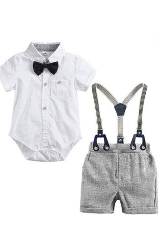 The Grayson Suspender Outfit