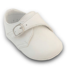 The Mason Leather Shoes in White