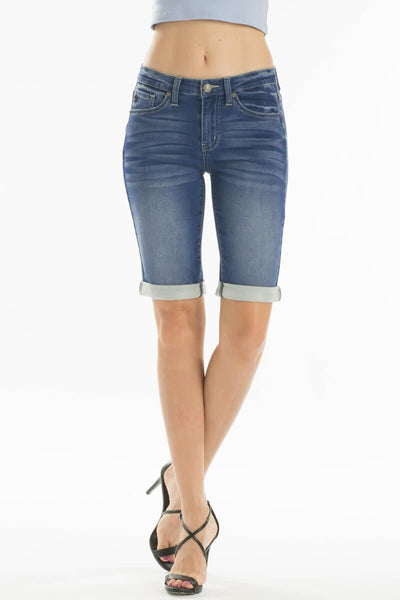 KanCan Mid Rise Bermuda Shorts - Medium