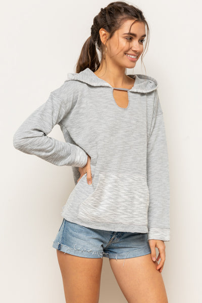The Felicity Hoodie in Gray