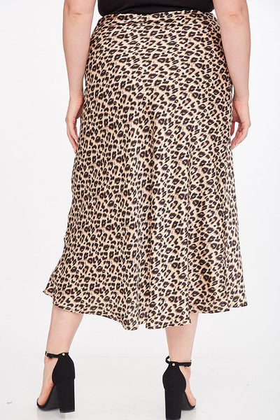 The Alexis Leopard Print Maxi Skirt