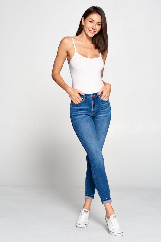 TNR Mid High Rise Skinny Jeans