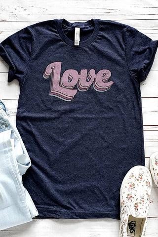 Retro Love Graphic Tee