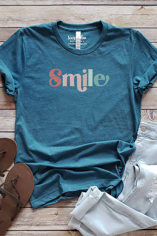 Retro Smile Graphic Tee