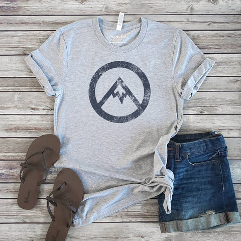 Minimalist Mountain Graphic Tee