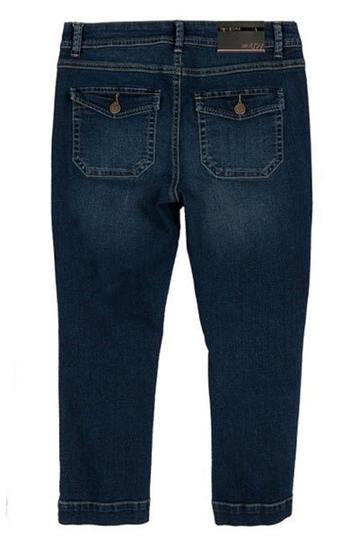 The Samantha Capri's in Medium Wash Denim