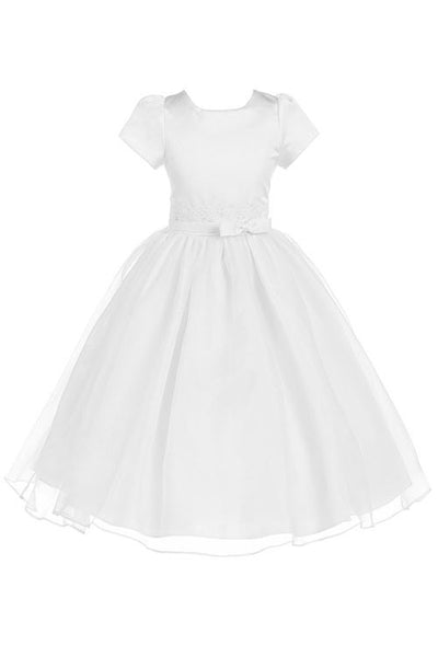The Laurel Elegant Organza Dress