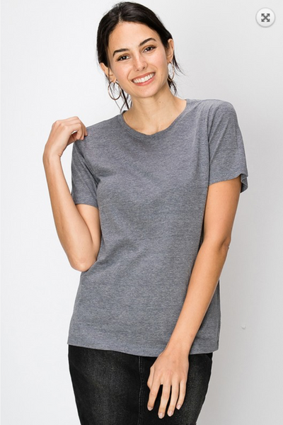 The Everyday Crew Neck Tee in Dark Night