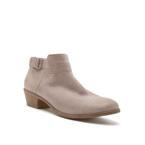 The Malia Bootie in Taupe