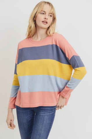 The Brynlee Striped Sweater