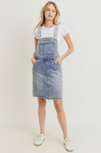 TNR Denim Overall Skirt