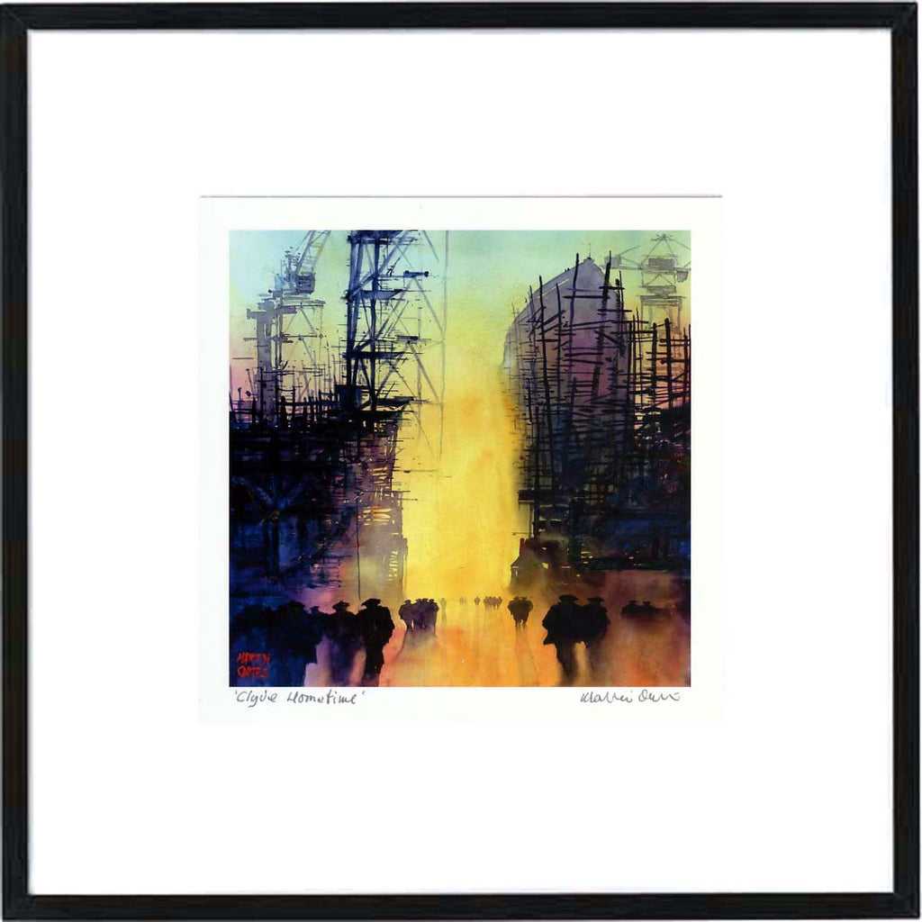 Clyde Hometime Framed Print