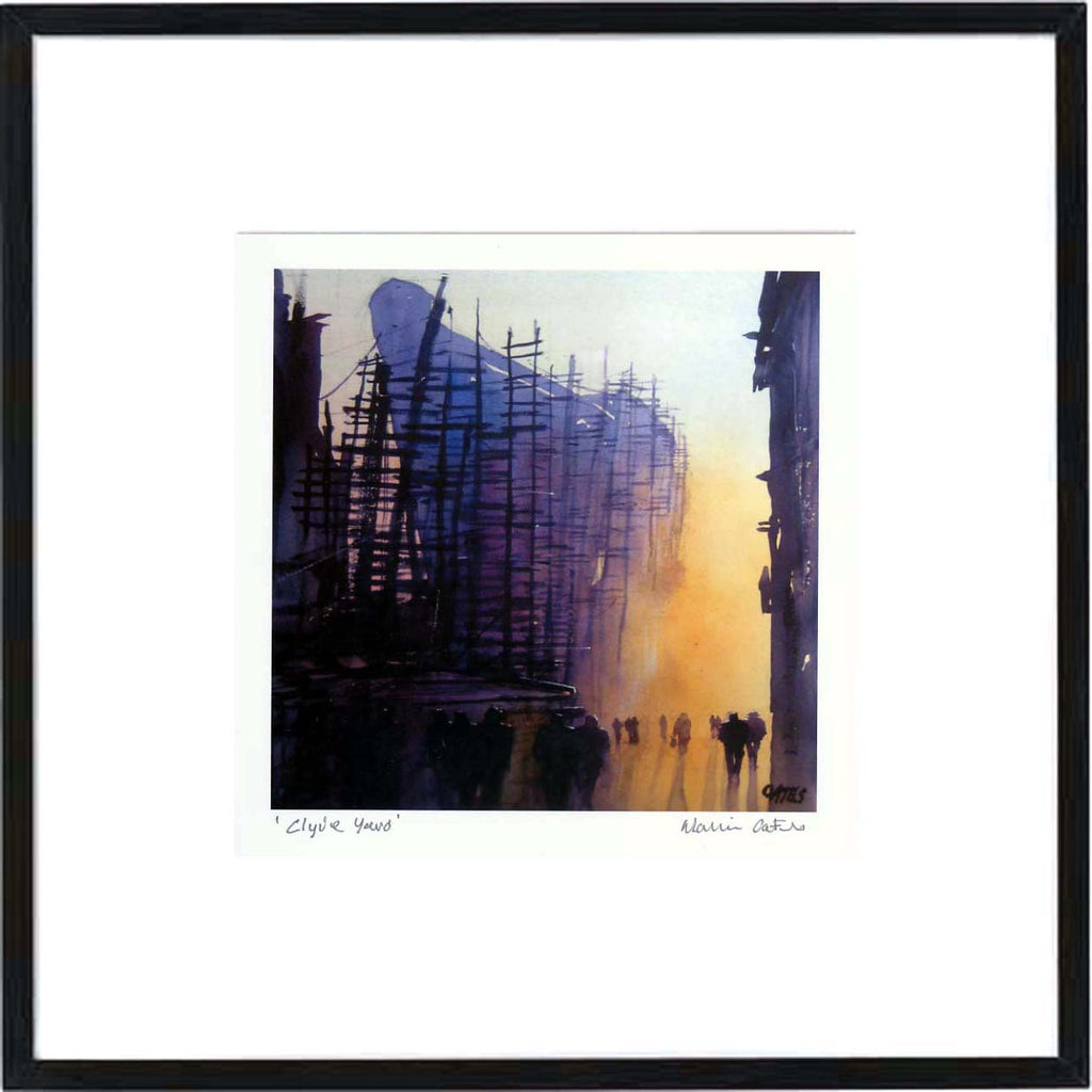 Clyde Yard Framed Print