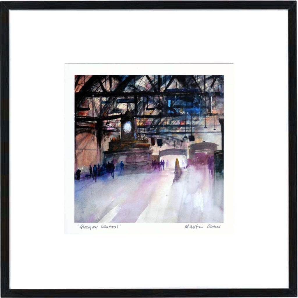 Glasgow Central Framed Print