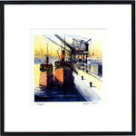 Puffers  Framed Print