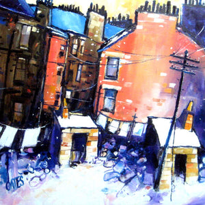 Anderston Winter Square Print