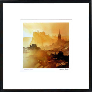 Edinburgh Skyline  Framed Print