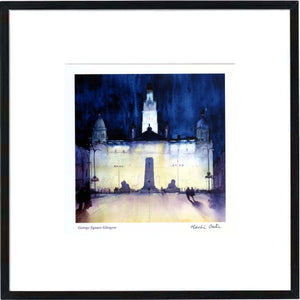 George Square Glasgow  Framed Print