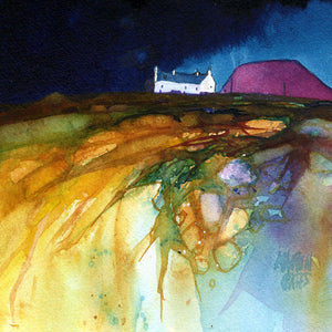 Hillfarm West Coast Square Print