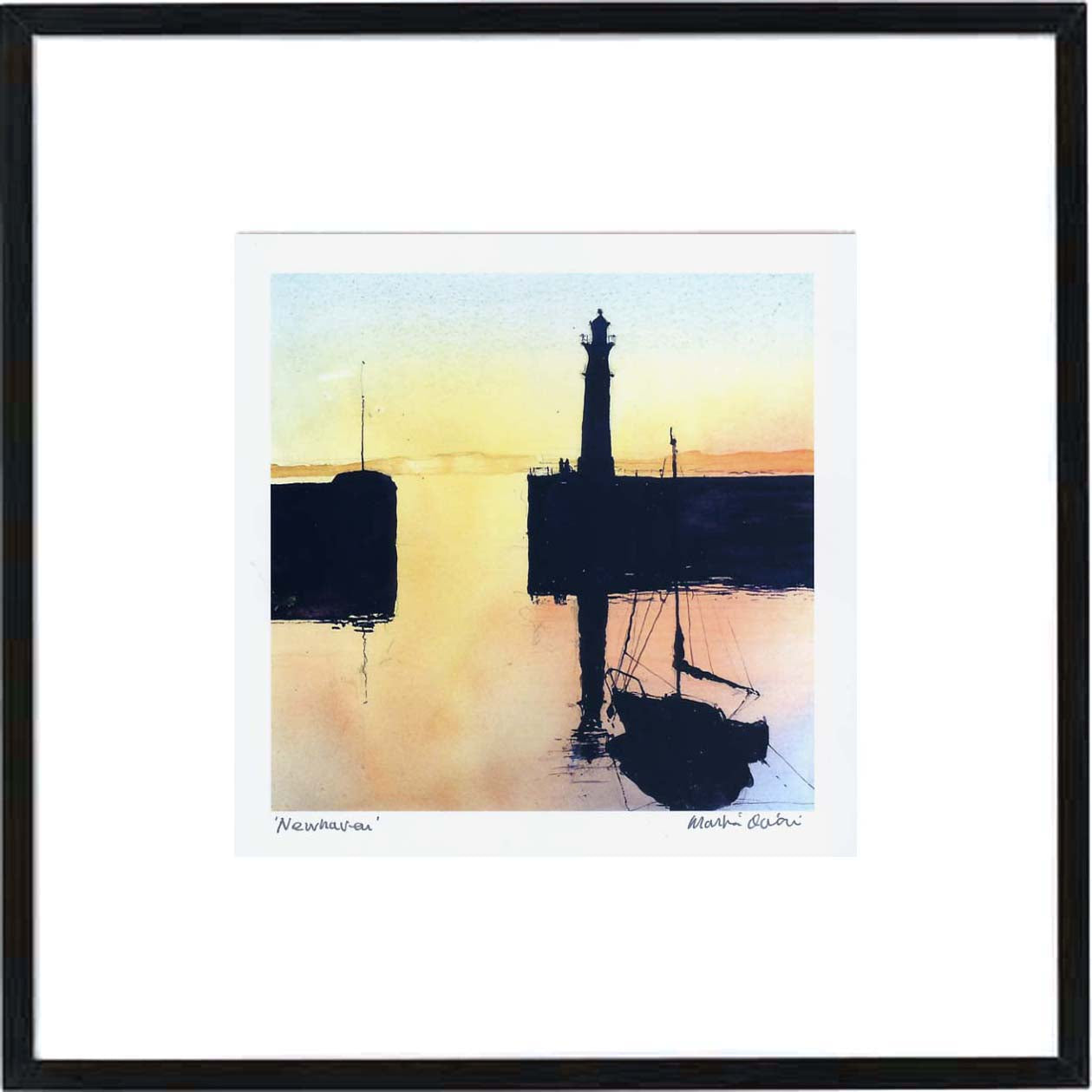 Newhaven  Framed Print