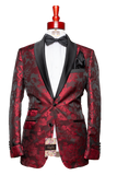Made to Measure 2-Button Floral Tuxedo Jacket