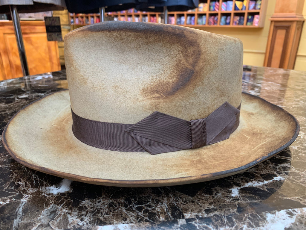 Tan Burnished Hat