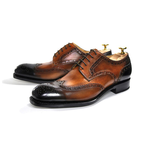 H & H Wingtip Brogue