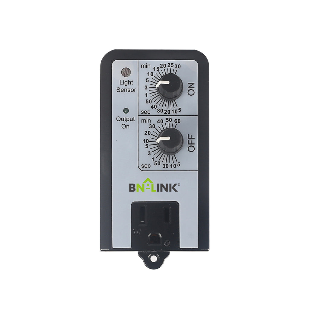 BN-LINK Short Period Repeat Cycle Timer Day/night, or 24 Hours Operation - BN-LINK
