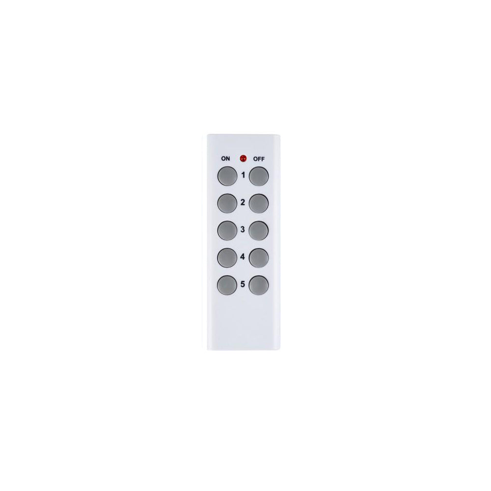 Replacement Remote Control 5x2 (Model A)