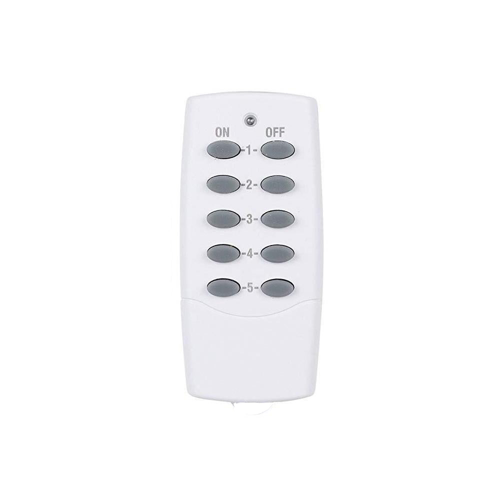 Replacement Remote Control 5x2 (Model C)