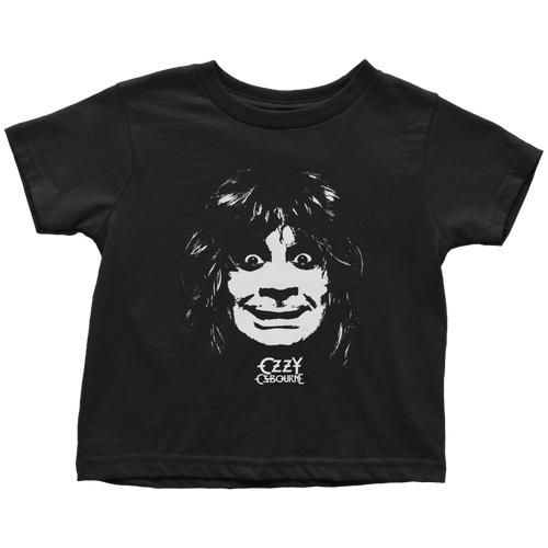 Portrait Ozz Black Toddler Tee